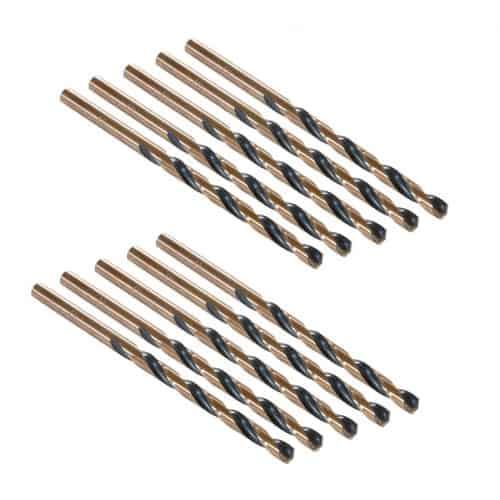 TP-5MMJ10 5mm Ultra Bor Super Premium Jobber Length Drill Bit (10 pack)
