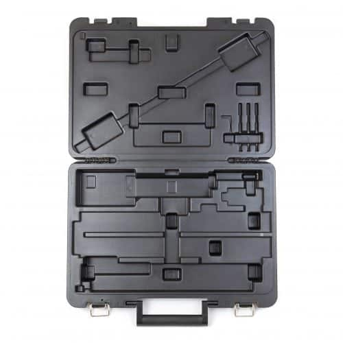 Cabinet Hardware Jig Blow Molded Carrying Case