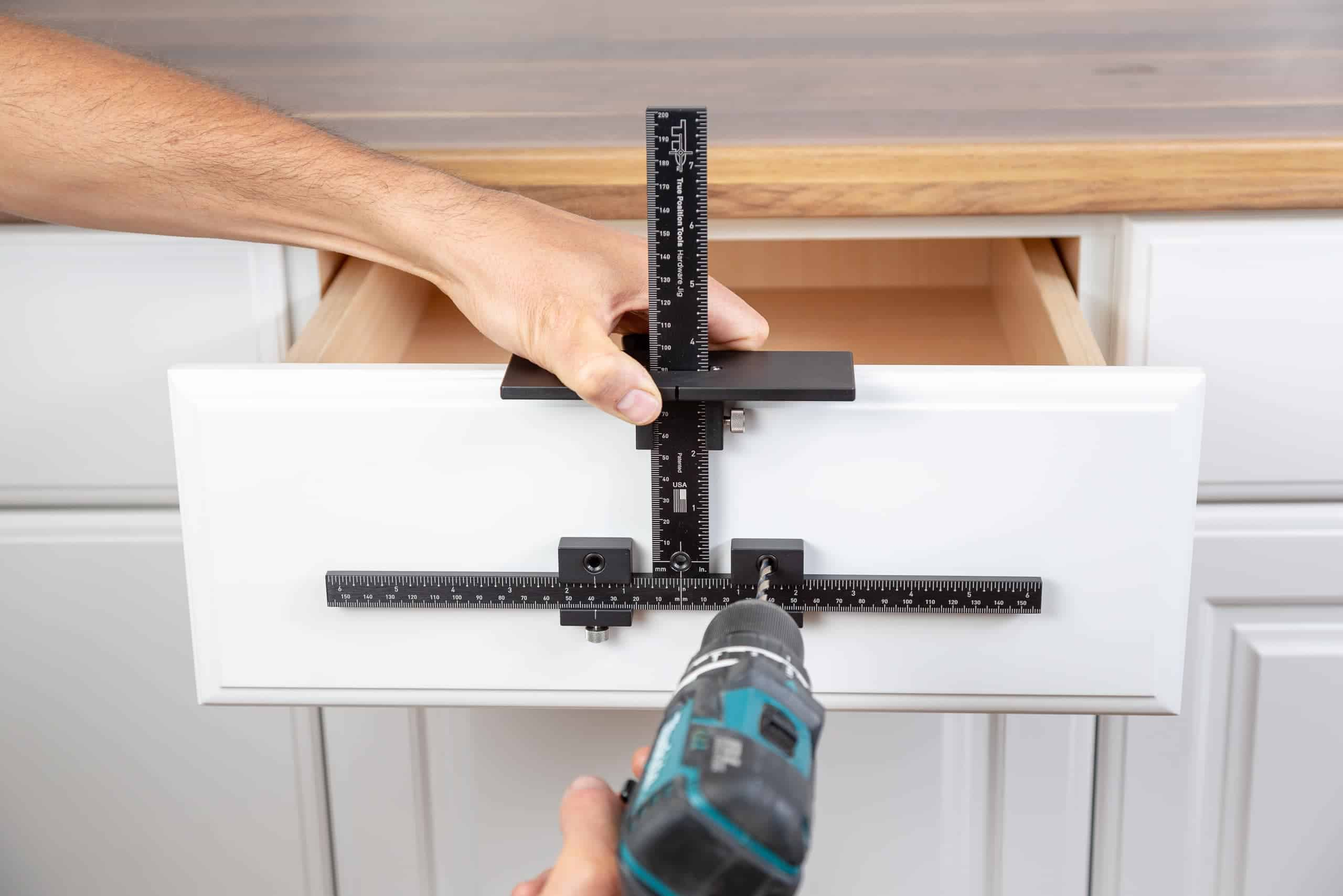 TP-1934 Cabinet Hardware Jig Drawer Handle Installation