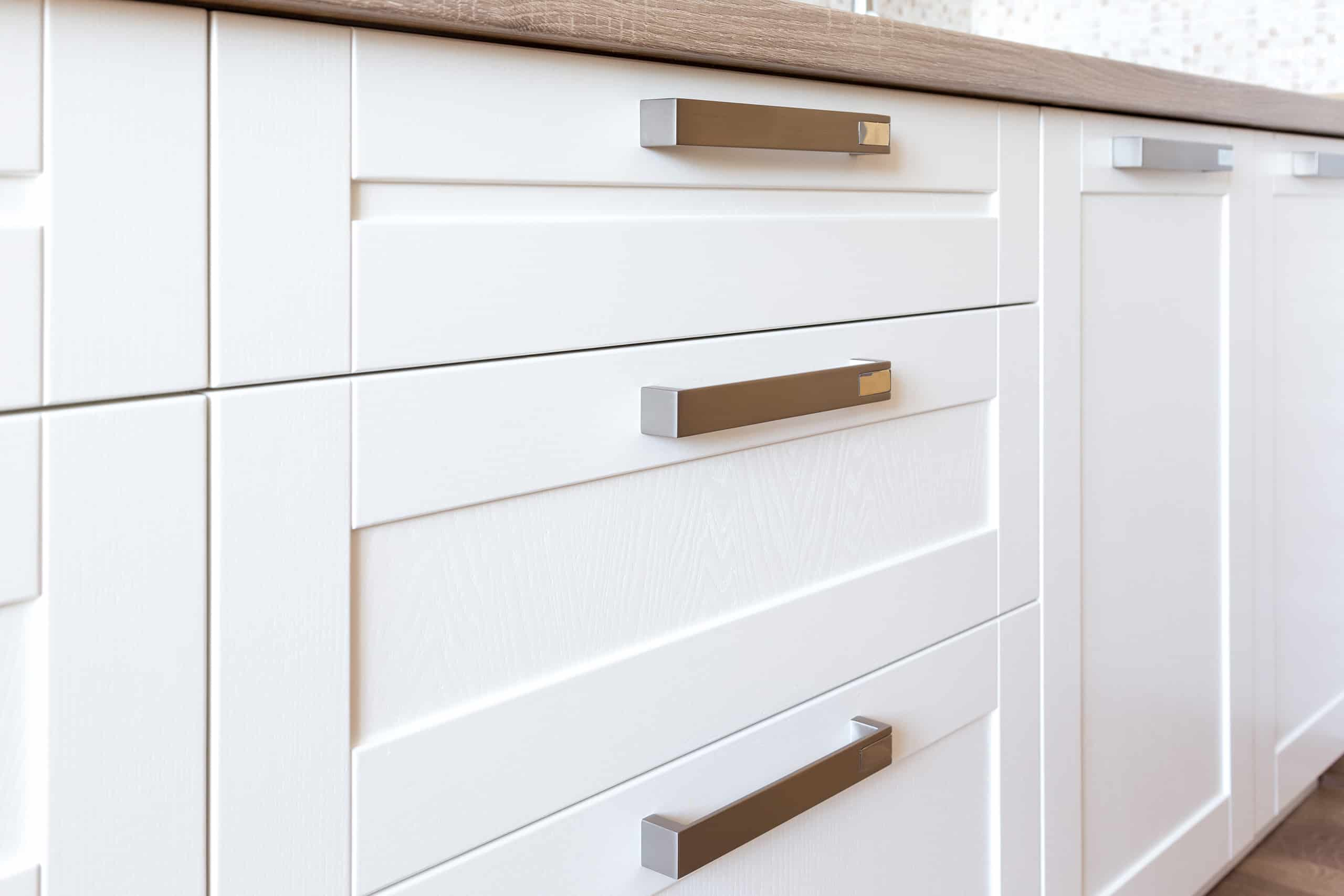 S On Shaker Drawer Fronts