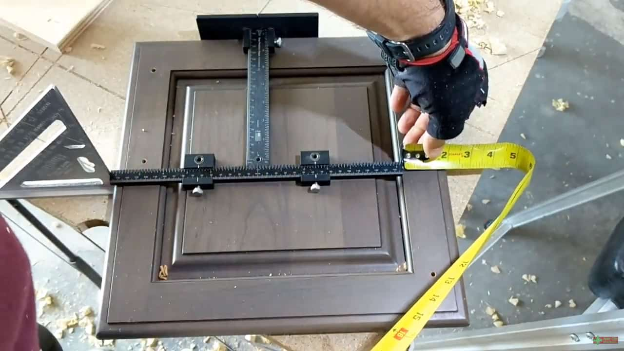 True Position Tool Cabinet Hardware Jig - Fastest Set Up by Woodworker